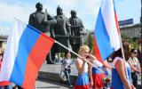 カスタムSunproofの国旗のロシアの国旗モデルNo.防水すれば: NF-007