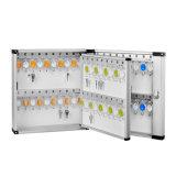 Коробка емкости 72 ключей алюминиевая ключевая для ключевого безопасного хранения