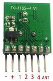 Il telecomando senza fili della ricevente e del trasmettitore da 433 megahertz che impara il modulo 1527 di decodifica di codice 4 CH ha prodotto con l'apprendimento del tasto