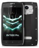 Blackview BV7000 ПРОФЕССИОНАЛЬНОЕ IP68 делает цвет водостотьким черноты телефона GPS Glonass 4G фингерпринта сердечника 5inch FHD 4G+64G Mt6750t Octa франтовской