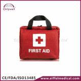 Kit de primeros auxilios médico casero de la emergencia del rescate