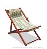 標準的な方法現代屋外の庭の家具アルミニウムスタック折るビーチチェア