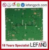 1.6mm 2 Schichten OSP Fr4 Sicherheitskontrolle-Leiterplatte Schaltkarte-