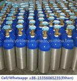 Índice de pinos portátil Cilindros de gás de oxigênio de alumínio