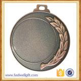 주물 금속 기념품 주문 금관 악기 공백 삽입 스포츠 메달을 정지하십시오