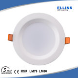 Éclairage commercial 15W 20W Dimmable DEL Downlight IP44