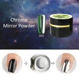 2017 neufs commencent la poudre magique de miroir de chrome de colorant d'art métallique de clou