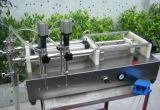 半自動テーブルの上の回転式弁の装飾的な充填機