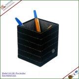 Supporto di cuoio di lusso della penna, sacchetto decorativo della penna del commercio all'ingrosso (1111R2)