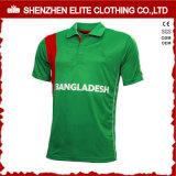 Maillot de cricket sublimé vert haute qualité (ELTCJI-2)