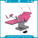 AG-C201A 금속 프레임 고도 조정가능한 병원 부인과 검사 의자