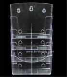 Duidelijke AcrylA4 4 Fabrikant btr-H6304-4 van de Tribune van de Brochure van Banden