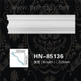 Tête intérieure moulant le panneau de plafond de moulage de corniche d'unité centrale Hn-85136