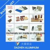 Tratamiento superficial popular anodizado para el perfil de aluminio de aluminio