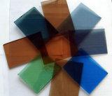 F 녹색/파란 청동/회색체 색을 칠한 플로트 유리
