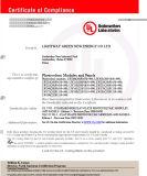 120W zonneModule met Iso&ul- Certificaat