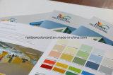 Brochure de réservation personnalisée de carte de couleur d'impression avec l'endroit UV