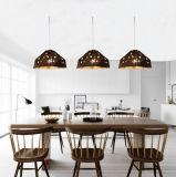 Lâmpada do pendente da suspensão da sala de jantar do metal do vintage a mini ilumina a iluminação na altura ajustável, ajuste para a cozinha (base E27, o máximo 60W)