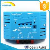 regolatore doppio della carica di 8A 12V LED Displying Usbsolar per il sistema solare Ys1208