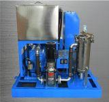 Arenador de alta presión del jet de un agua más limpia del mecanismo impulsor de gas