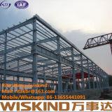 Structure métallique de bâti portique, Chambre galvanisée d'usine de structure métallique, construction en acier