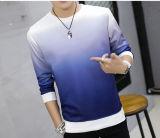 卸し売りバルク人のプルオーバーの勾配の丸首100%Polyesterのスエットシャツ