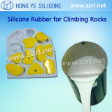 2 Teile flüssige Silikon-Gummi-für Harz-Form Docowing