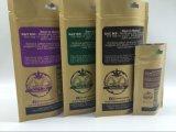 Sac de papier d'emballage de catégorie comestible pour le sac de empaquetage de poudre de thé de lait