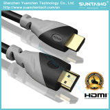1080P/2160 HDTV、DVのためのイーサネットのHDMIケーブルへの1.4/2.0V高速HDMI