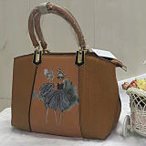 Nuova bella borsa Sy8020 di stampa di alta qualità del sacchetto di Tote dell'unità di elaborazione della ragazza di modo di disegno