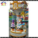 Carrossel do anjo pouco passeio do Kiddie do recinto de diversão do cavalo do carrossel