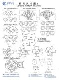 Stempelnde u. aufbereitengeräten-Steinmaschine für Marmor und Granit