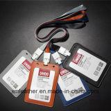 Echtes Leder Identifikation-Kartenhalter-Visitenkarte-Kasten