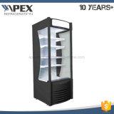 Redbud-Abrir um tipo aberto claro mais frio do canto do refrigerador do diodo emissor de luz Multideck