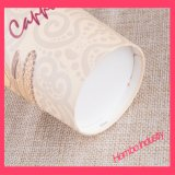 Taza de papel modificada para requisitos particulares para la bebida caliente
