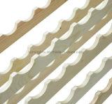 La madera de pino natural del color que empila el estante del vino con talla modifica para requisitos particulares
