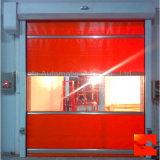Нутряная промышленная дверь завальцовки дистанционного управления