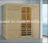 De stevige Houten Zaal van de Sauna met Aangepaste Grootte (bij-8643)