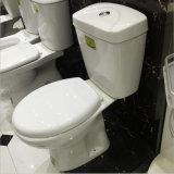 Porzellan-weiße Farben-zweiteilige Toiletten für Badezimmer