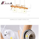 Europäische kreative hängende Hauptlampe des Vogel-drei für Esszimmer