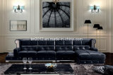 Modernes Möbel-Oberseite-Leder-Sofa (SBO-5942)