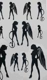 Etiqueta engomada temporal impermeable del tatuaje del arte de la etiqueta engomada del tatuaje del ángel