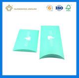 Коробка формы подушки упаковывая для выдвижения волос (с изготовленный на заказ печатание логоса и цвета)
