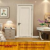 Weiße Lack MDF-Sicherheits-Vorderseite-hölzerne Tür (GSP8-031)