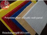 Matériau absorbant du son de fibre de polyester Panneau mural 3D panneau acoustique panneau de décoration de panneau de plafond