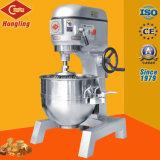 mezclador planetario de la hornada 30L de las velocidades profesionales de la máquina tres para el uso comercial