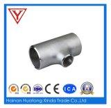 Acero inoxidable de las instalaciones de tuberías de acero inoxidable que reduce la te con Ce
