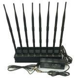 8チャネルの屋内高い発電GPS/WiFi/4Gの携帯電話の妨害機