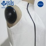 Standplatz-Muffen-weißes reizvolles Form-Frauen-Kleid
