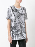カスタム卸し売り女性の方法によって印刷されるTシャツ